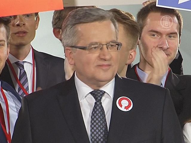 Президент Польши не смог переизбраться в 1 туре
