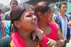 В Непале паника: новое землетрясение