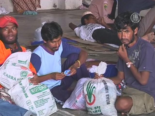Беженцы из Мьянмы и Бангладеш дерутся между собой