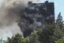 Пожар в многоэтажке в Баку: 16 погибших