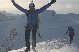 Лыжники покорили 7 альпийских пиков за сутки
