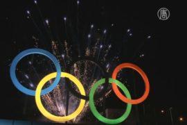 Олимпийскую эмблему установили в Рио-де-Жанейро
