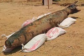 В Камбодже из реки достали 230-килограмовую бомбу