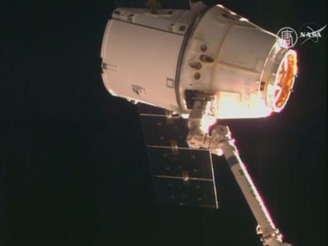 Космический корабль SpaceX Dragon вернулся на Землю