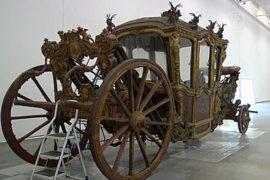 Португалия: выставка бесценных карет переехала
