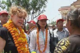 Голливудская актриса помогает Непалу