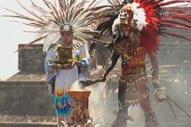Огонь Панамериканских игр зажгли в Теотиуакане