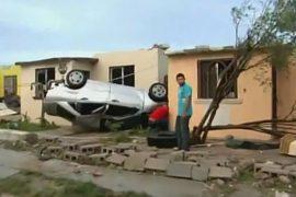 Торнадо пронёсся по городку в Мексике, есть жертвы