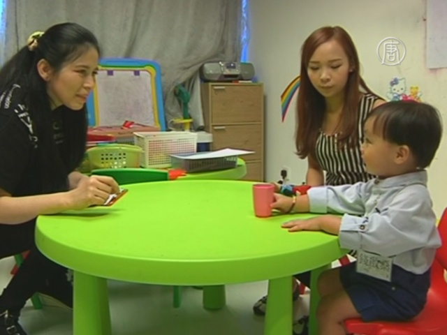 Малышей в Гонконге учат проходить собеседование