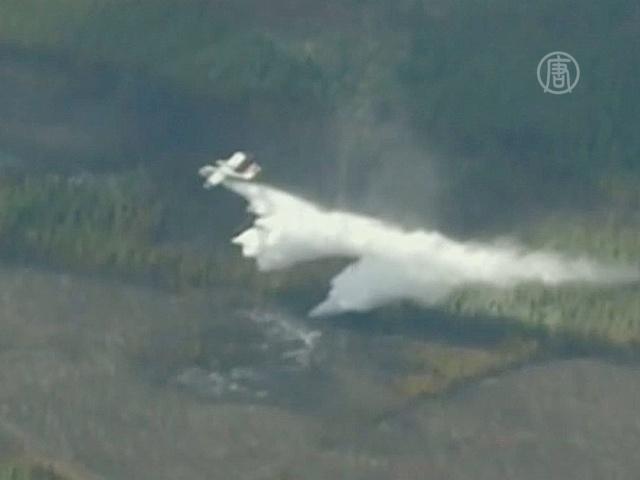 Лесные пожары в Канаде мешают добыче нефти