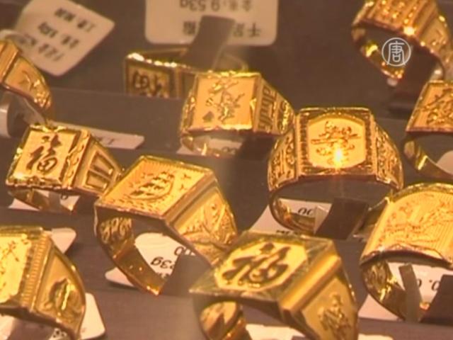 Изделия из золота – хит продаж в Китае