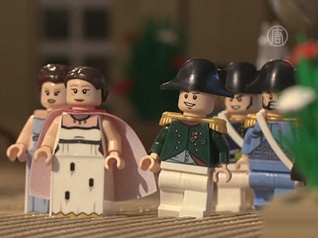Выставку из Lego в Ватерлоо посвятят Наполеону