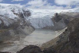 Ледники Перу отступают из-за потепления климата