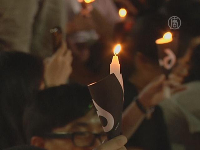 В Гонконге почтили память жертв Тяньаньмэнь