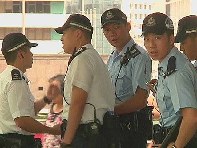 В Гонконге усилили присутствие полиции