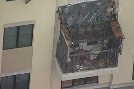 США: балкон обрушился под тяжестью группы студентов
