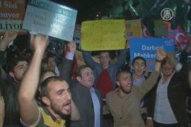 Приговор экс-главе Египта вызвал протесты в Турции