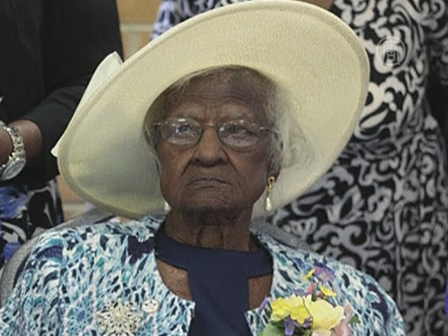 Старейшая жительница мира скончалась в 116 лет