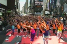 Генсек ООН поддержал празднование Дня йоги