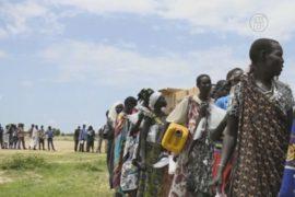 Голод угрожает сотням тысяч южносуданцев