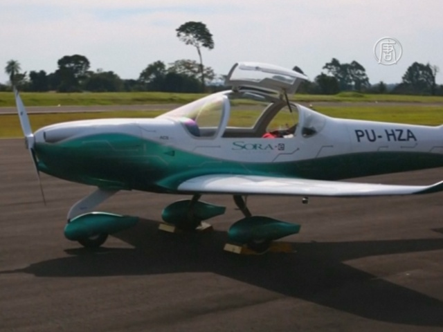 Бразилия и Парагвай построили экологичный самолёт