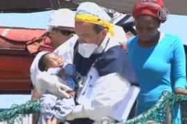В Средиземноморье за сутки спасли 2700 мигрантов