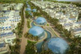 Дубай строит полностью экологичный район