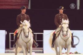 Школа верховой езды в Вене отметила 450-летие