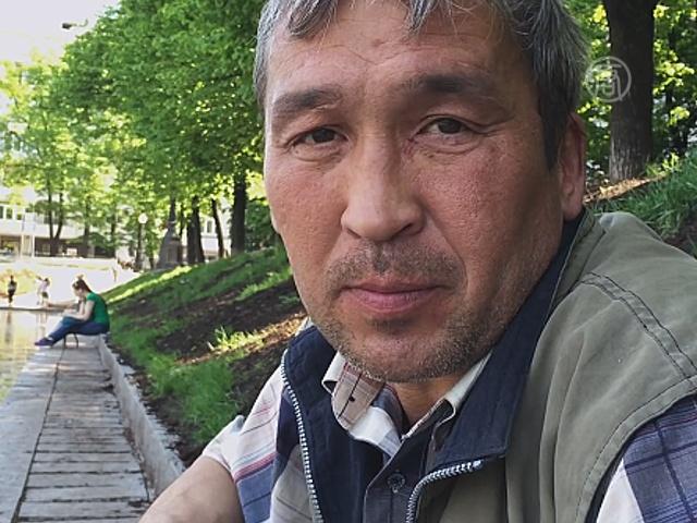 Бомж-блогер из Москвы завоёвывает популярность