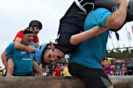 В Финляндии соревновались в переноске жён