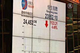 Китайский фондовый рынок продолжает обвал