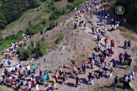 Марш в память о резне в Сребренице