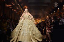 Мода от Эли Сааба: осень, расшитая золотом