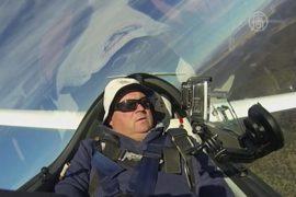 Австралийских планеристов влечёт небо над горами