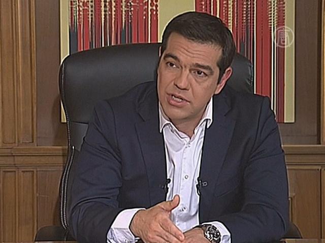 Премьер Греции поддержал соглашение с кредиторами