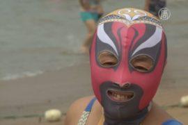 Купальник, закрывающий всё тело, — тренд в КНР