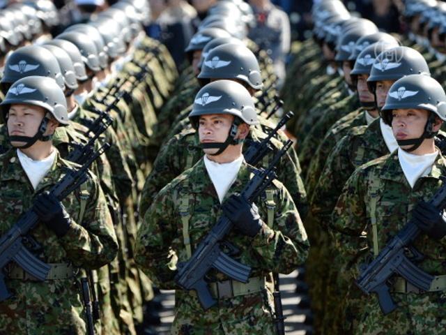 Япония расширила полномочия своей армии