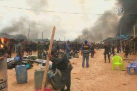 В Перу уничтожают лагеря золотодобытчиков