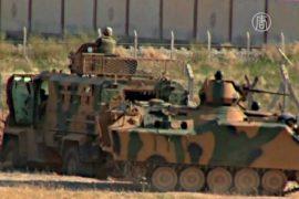 Турция укрепляет границу с Сирией после теракта