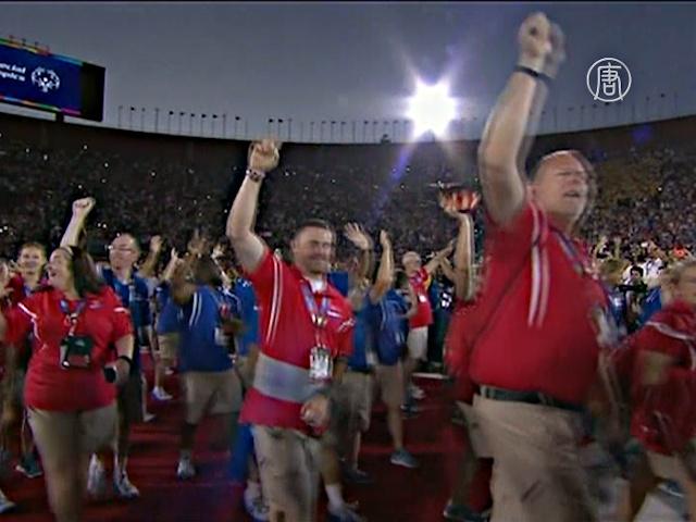 Специальная Олимпиада стартовала в Лос-Анджелесе