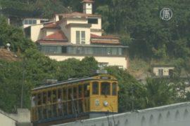 В Рио вновь запустили знаменитый трамвай
