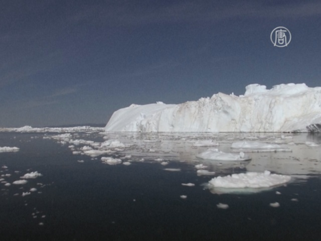 Ледники Гренландии медленно исчезают