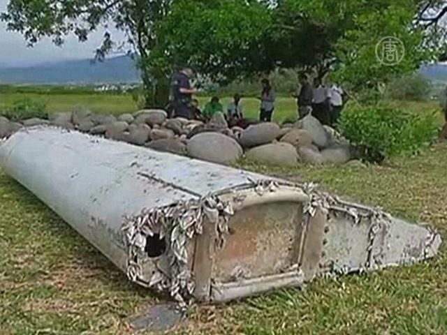 Пропажа МН370: эксперты обследуют новые обломки