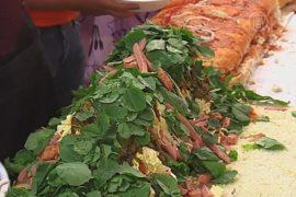 65-метровый сэндвич приготовили в Мексике