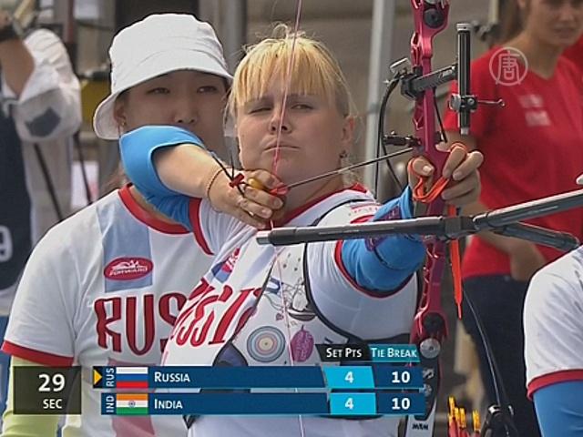 Россиянки взяли золото на ЧМ по стрельбе из лука