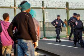 Охрану Евротоннеля со стороны Франции усилили