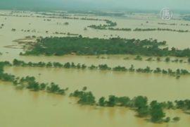 Наводнение в Мьянме: десятки погибших
