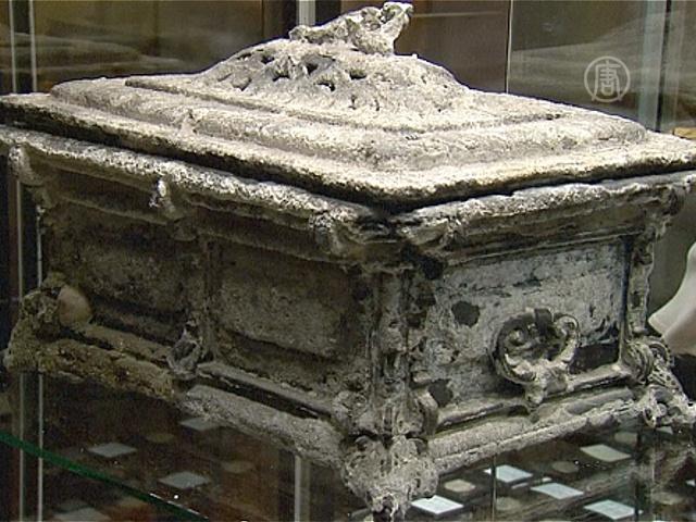 Сокровища затонувшего галеона уйдут с молотка