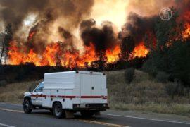 Пожары в Калифорнии сдержать не удается