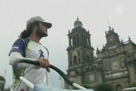 Кругосветное путешествие пешком завершает испанец